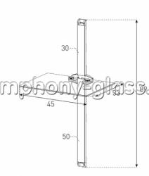 Настенное крепление для аппаратуры Sonorous PL 2610 B