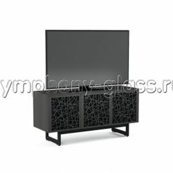 BDI Elements 8777 Ricochet Doors Charcoal, Walnut