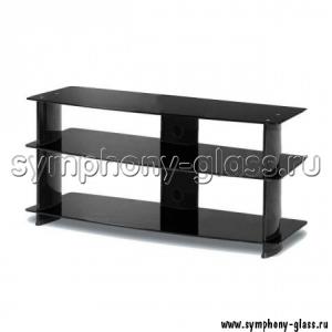 Черная телевизионная тумба AlwaysStar PL3500BB