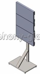 Напольная стойка для видеостены 1х3 Вариант 2