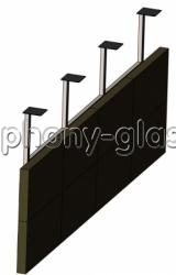Потолочное крепление для видеостены 4х2 монитора