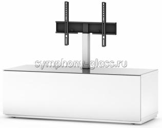 Закрытая стойка для больших тв Sonorous ST 131F BLK BLK BS, ST 131F WHT WHT BS