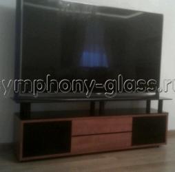 Тумба для больших ТВ с дверцами - Элегиус 1800
