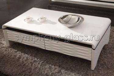 Журнальный стол Caffe Collezione 3D-Modo Bright White