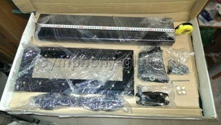Невысокий стенд для жк SMS Flatscreen TH T 600 цвет ЧЕРНЫЙ