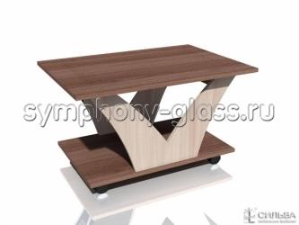 Журнальный стол на колесах Лотос-1