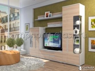 Стенка Дали шкаф комбинированный НМ 013.52-01