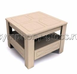 Маленький журнальный стол Компасс Элизабет ЭМ-7