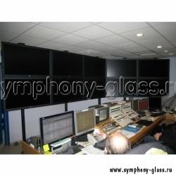 Распорная видеостена для 5х2 мониторов