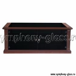 Закрытая стеклом тумба для телевизора Akur T 700 D