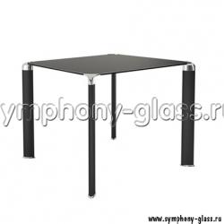 Небольшой черный обеденный стол Akma Mela 01
