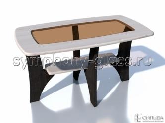 Прямоугольный журнальный стол НМ 013.90-03