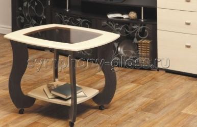 Журнальный стол на колесах Сатурн-М01
