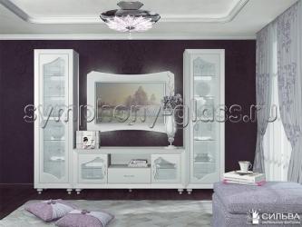 Белый набор мебели Сильва Лилиан
