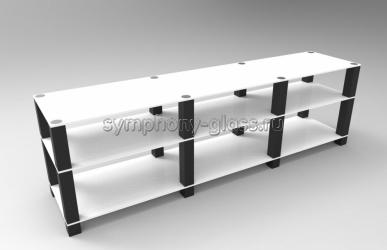 Тумба для тв 2 м Стекло Металл ТК 200.3/8