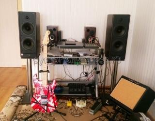 Стойки под акустику Stoyki_PRO Хром Chrome Trio V1