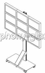 Напольная видеостена 3х3 монитора Вариант 3