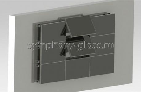 Видеостена настенный кронштейн для 3х3 панели