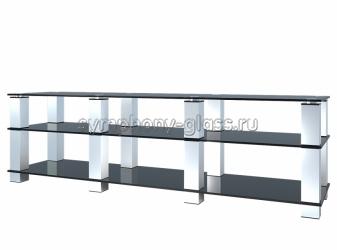 Длинная стойка для аппаратуры G-Met ТВК-3.1800 (3 стекла)