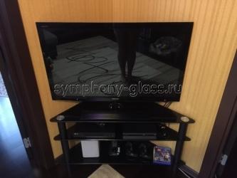 Угловая тв тумба Стекло-Модуль ТВ-У-16