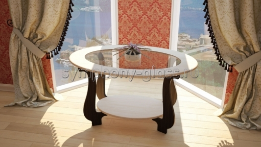 Овальный журнальный стол Бител СЖ-25