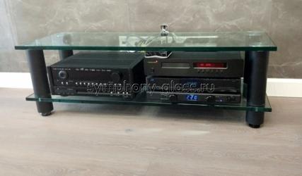 Низкая тумба из стекла 12, 15, 19 мм ANLine Модель 1