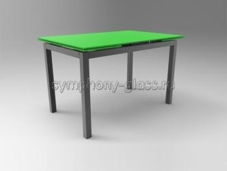 Раскладной стеклянный стол Стекло Металл Гамма