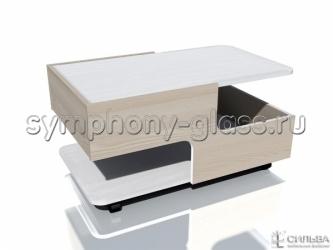 Журнальный стол на колесах Дали НМ 013.89