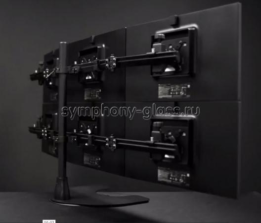 Настольная видеостена 3х2 монитора (Вариант 2)