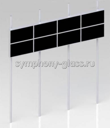 Распорная стойка для видеостены 4х2 монитора
