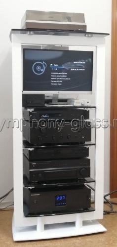 Оригинальная этажерка для AV аппаратуры ANLine Icon 9422