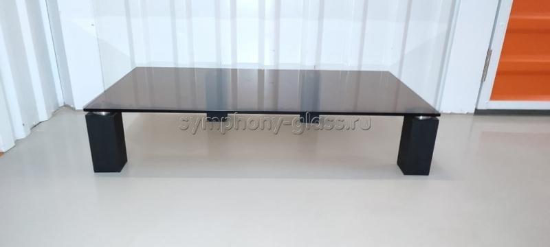 Настольная подставка для тв Стекло Металл ТК-1