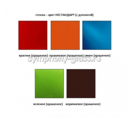 Стойки для акустики Стекло Металл САС-О 70.2|1 (2 шт.)
