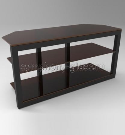 Телевизионный столик Стекло Металл Концепт