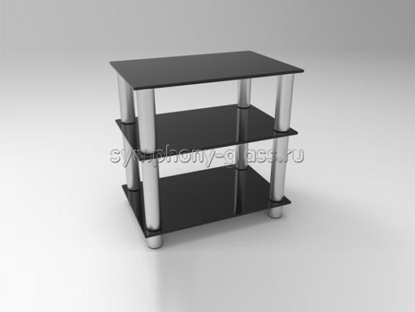 Подставка для аппаратуры Стекло Металл ТВС 60.3 4