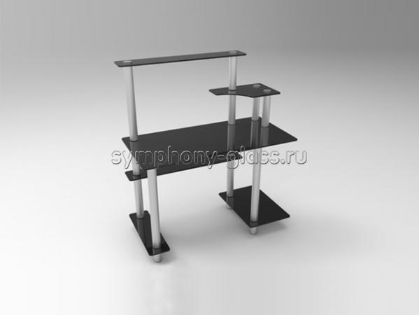 Стеклянный стол для компьютера СК-2