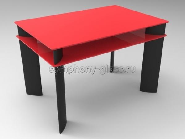 Большой обеденный стол Стекло Металл Тета