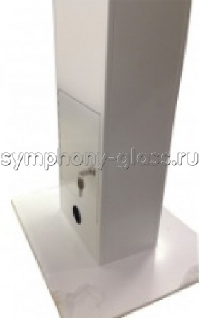 Стойка с защитным корпусом для сенсорной панели