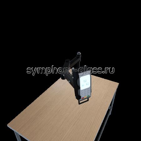 Настольное крепление для банковского POS-терминала (пин-пада)
