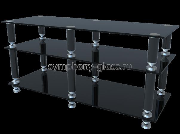 Стойка для аппаратуры на конусах G-Met Эверест-1200-3