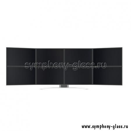 Настольный кронштейн для видеостены 4х2 монитора