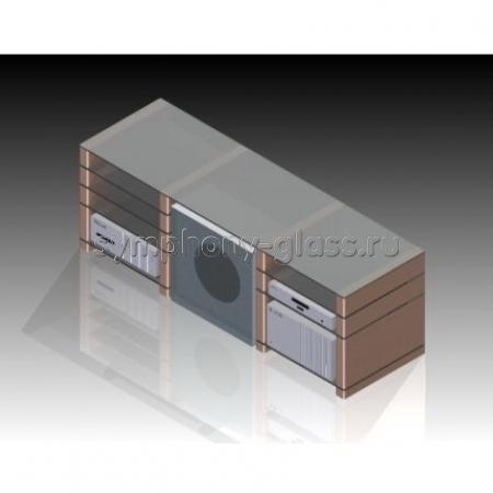 Стойка для стереосистемы ANLine Мега аппаратурная CC1