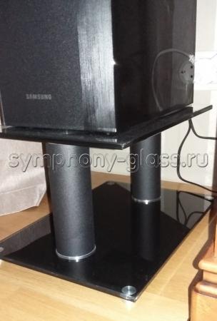 Стойки для акустики Стекло Металл САС 40.2|2 (2 шт.)