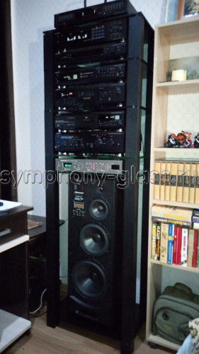 Высокая стойка для аппаратуры G-Met ТВК-6.650 (6 стекол)