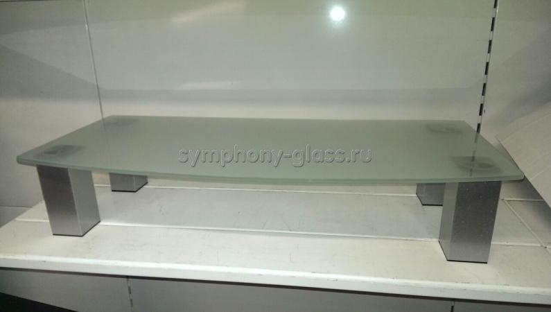 Настольная подставка для тв Стекло Металл ТКО-1 350
