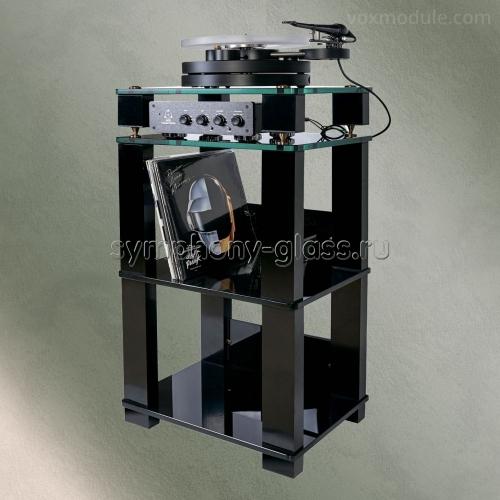 Стойка для проигрывателя винила и пластиной VOX Module MC-04