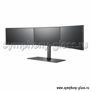 Настольная стойка для видеостены на 3х1 монитора
