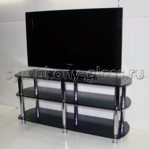 Тумба для телевизора Стекло Металл ТВС 130.3 6