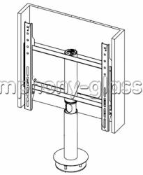 Настольная подставка ANLine закрытая с вращением 360 градусов