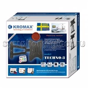 Поворотно-наклонный кронштейн Kromax Techno-3
